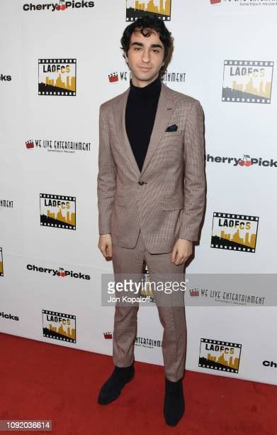 Alex Wolff attends the 2nd Annual Los Angeles Online Film Critics Society Award Ceremony at Taglyan Cultural Complex on January 09 2019 in Hollywood...