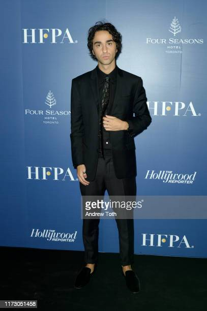 Alex Wolff attends The Hollywood Foreign Press Association and The Hollywood Reporter party at the 2019 Toronto International Film Festival at Four...