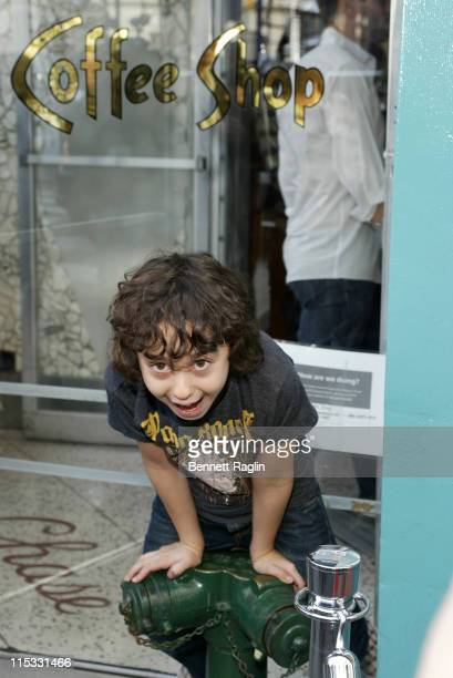 Alex Wolff during Celebrities Dine and Show Support for the Coffee Shop in Union Square After City Health Inspectors Temporarily Shut it Down at...