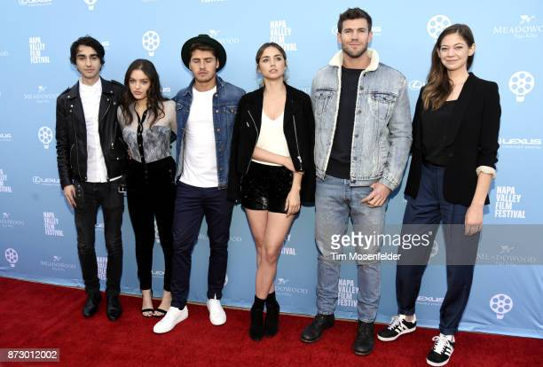 Alex Wolff Odeya Rush Gregg Sulkin Ana De Armas Austin Stowell and Analeigh Tipton attend the Rising Star Showcase at Materra | Cunat Family...