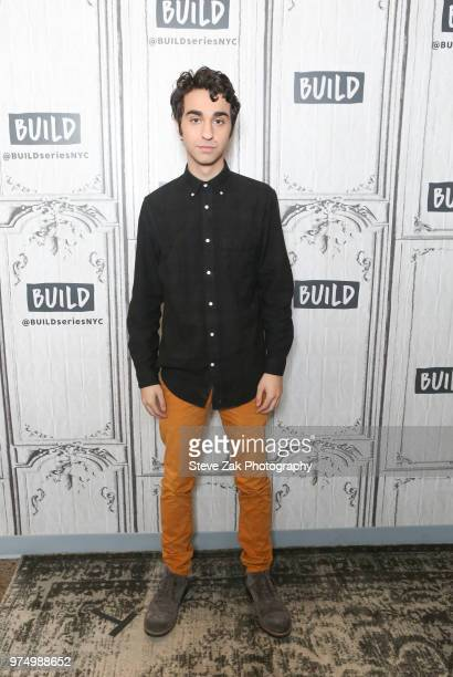Alex Wolff visits Build Series to discuss 'Hereditary' at Build Studio on June 14 2018 in New York City
