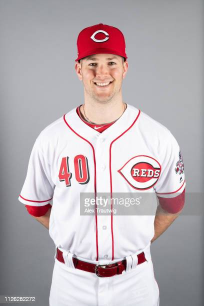 Alex Wood of the Cincinnati Reds poses during Photo Day on Tuesday February 19 2019 at Goodyear Ballpark in Goodyear Arizona