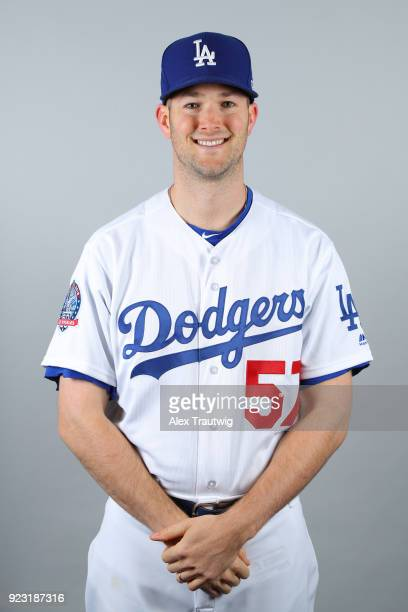 Alex Wood of the Los Angeles Dodgers poses during Photo Day on Thursday February 22 2018 at Camelback Ranch in Glendale Arizona
