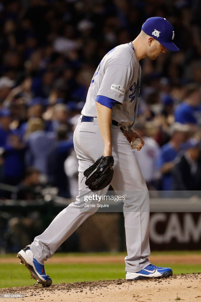 League Championship Series - Los Angeles Dodgers v Chicago Cubs - Game Four