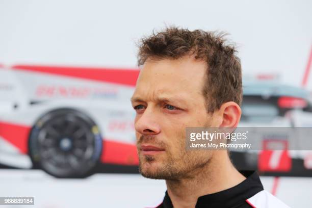 Alex Wurz of Austria and Toyota Gazoo Racing during the Le Mans 24 Hours Test Day on June 3, 2018 in Le Mans, France.