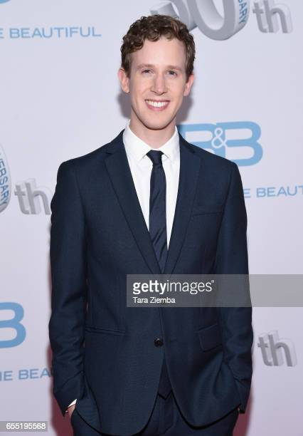 Alex Wyse attends the CBS's 'The Bold And The Beautiful' 30th Anniversary Party at Clifton's Cafeteria on March 18 2017 in Los Angeles California
