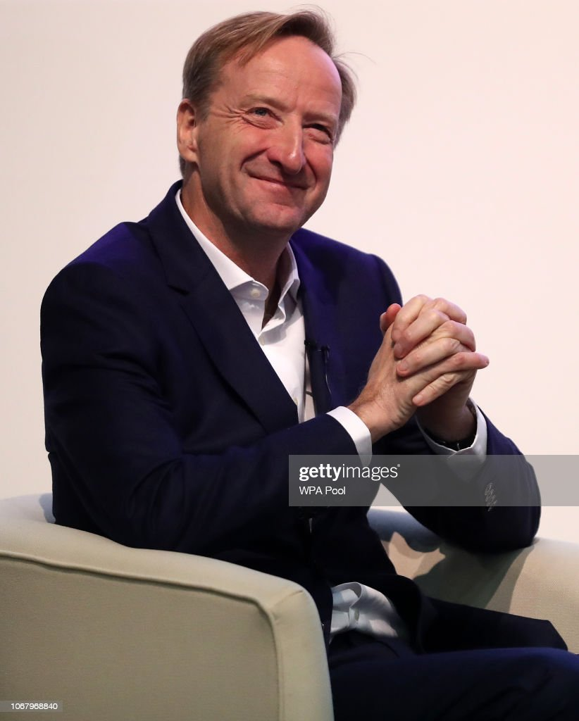 MI6 Chief Alex Younger Speaks At University Of St Andrews : News Photo