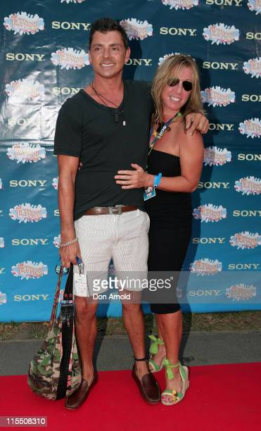 Alex ZabottoBentley and guest during Sony Tropfest 2007 at The Domain Royal Botanic Gardens in Sydney NSW Australia