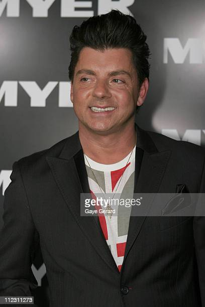 Alex ZabottoBentley during Myer Spring/Summer Fashion Show 2006 Arrivals at Royal Hall of Industries in Sydney NSW Australia