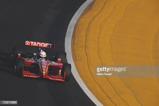 Alex Zanardi of Italy drives the Target Ganassi Racing Reynard 96I Honda during testing for the Championship Auto Racing Teams 1996 PPG Indy Car...