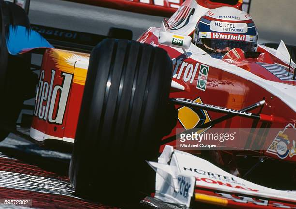 Alex Zanardi of Italy drives the Winfield Williams Williams FW21 Supertec V10 during the Canadian Grand Prix on13 June 1999 at the Montreal Circuit...