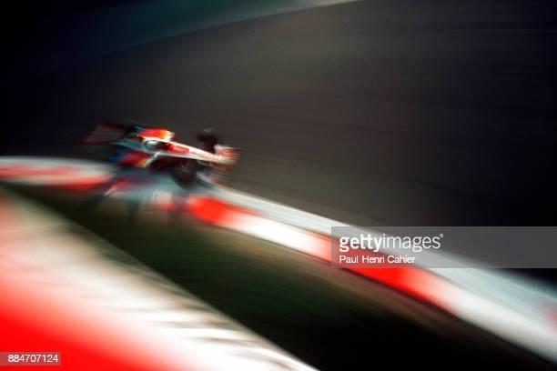 Alex Zanardi WilliamsSupertec FW21 Grand Prix of Italy Autodromo Nazionale Monza 12 September 1999 Alex Zanardi in the famous Parabolica curve in...