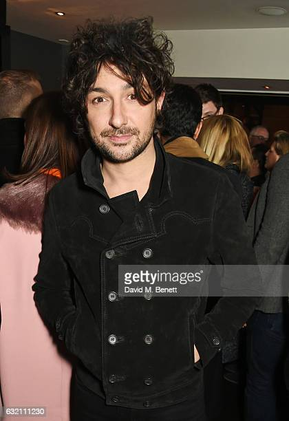 Alex Zane attends a private view of 'Emotion In Motion' an exhibition by fashion photographer Erica Bergsmeds at The Den at 100 Wardour St on January...
