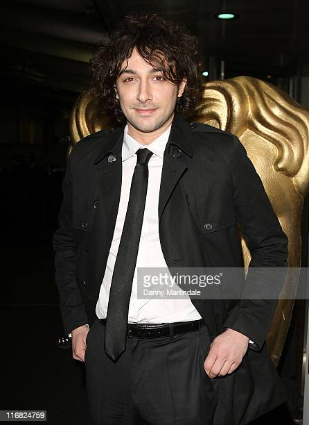 Alex Zane attends the BAFTA Video Games Awards at London Hilton on March 10 2009 in London England