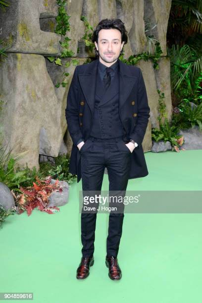 Alex Zane attends the 'Early Man' World Premiere held at BFI IMAX on January 14 2018 in London England