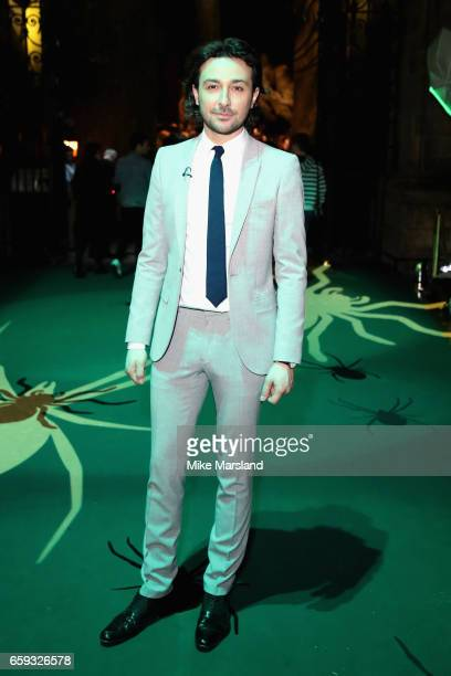 Alex Zane attends the exclusive launch event for the Forbidden Forest a new expansion at Warner Bros Studio Tour London The Making of Harry Potter...
