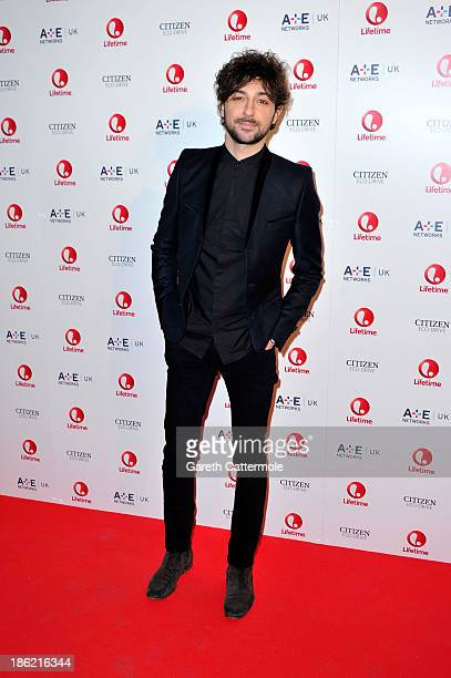 Alex Zane attends the launch of new entertainment channel 'Lifetime' at One Marylebone on October 29 2013 in London England