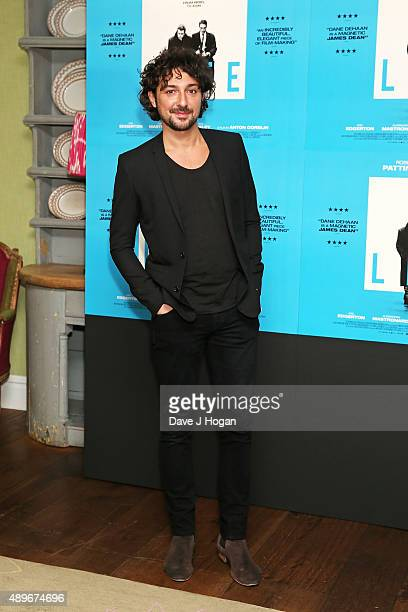 Alex Zane attends the 'Life' UK Gala Screening at Soho Hotel on September 23 2015 in London England