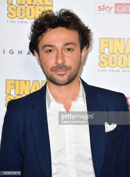 Alex Zane attends the World Premiere of 'Final Score' at the Ham Yard Hotel on August 30 2018 in London England