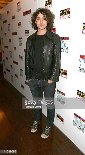 Alex Zane during NMEcom 10th Birthday Party at Koko in London