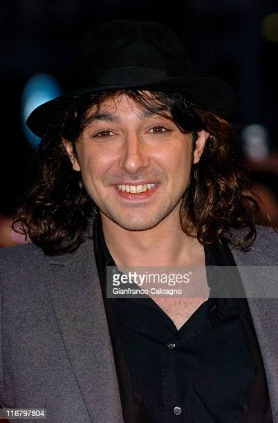 Alex Zane during The Mastercard Brit Awards 2007 Outside Arrivals at Earls Court in London Great Britain