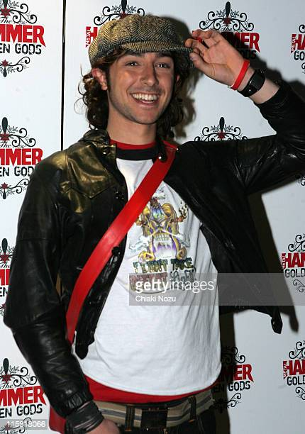 Alex Zane during The Metal Hammer Golden Gods Awards 2005 Arrivals Press Room at The Astoria in London Great Britain