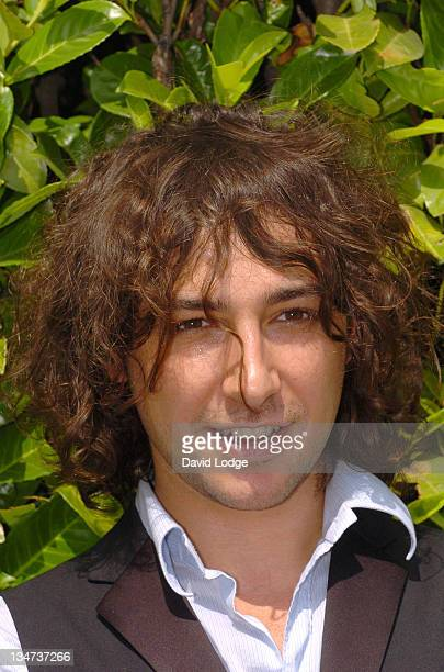 Alex Zane during The Volvic Lunchbox Festival UK's First Lunch Hour Festival July 20 2006 at Victoria Embankment Park in London Great Britain