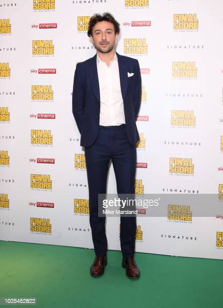 Alex Zaneattends the World Premiere of 'Final Score' at Ham Yard Hotel on August 30 2018 in London England