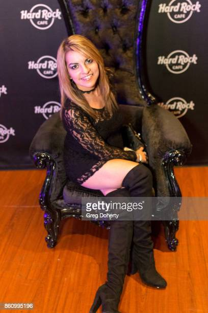 Alexa Apsey attends the Kira Reed and Taimie Hannum Double Birthday Bash at Hard Rock Live Las Vegas on October 12 2017 in Las Vegas Nevada