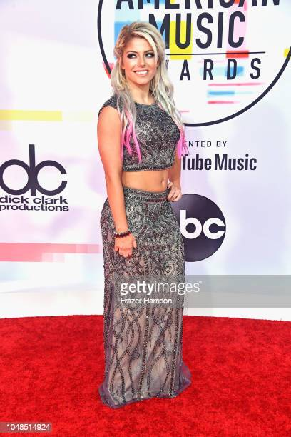 Alexa Bliss attends the 2018 American Music Awards at Microsoft Theater on October 9 2018 in Los Angeles California