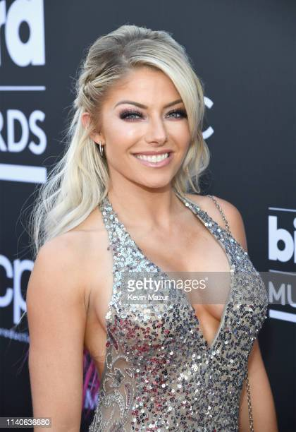 Alexa Bliss attends the 2019 Billboard Music Awards at MGM Grand Garden Arena on May 1 2019 in Las Vegas Nevada