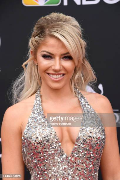Alexa Bliss attends the 2019 Billboard Music Awards at MGM Grand Garden Arena on May 01 2019 in Las Vegas Nevada