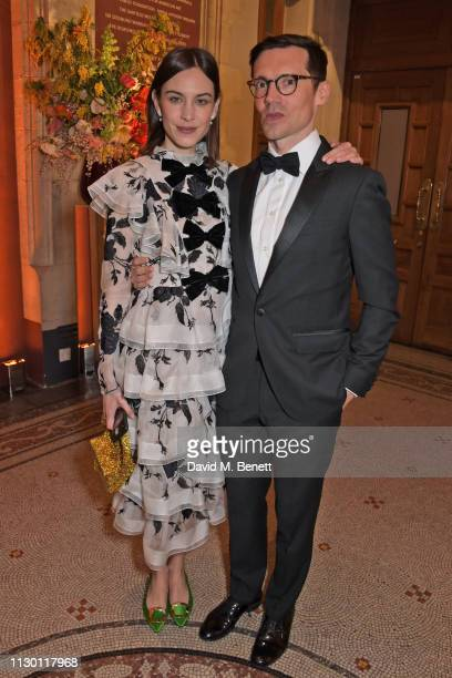 Alexa Chung and Erdem Moralioglu attend The Portrait Gala 2019 hosted by Dr Nicholas Cullinan and Edward Enninful to raise funds for the National...