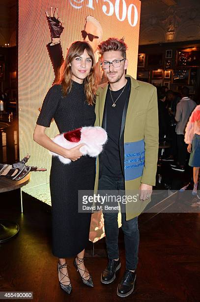 Alexa Chung and Henry Holland attend The Business of Fashion celebrating the #BOF500 the people shaping the global fashion industry at The London...