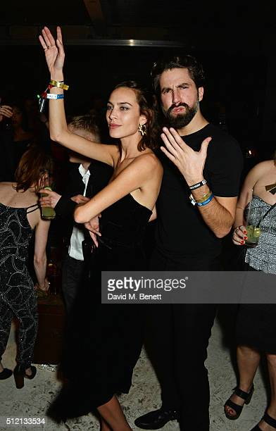 Alexa Chung and Jack Guinness attend the Universal Music BRIT Awards AfterParty 2016 in collaboration with Soho House and BACARDI on February 24 2016...