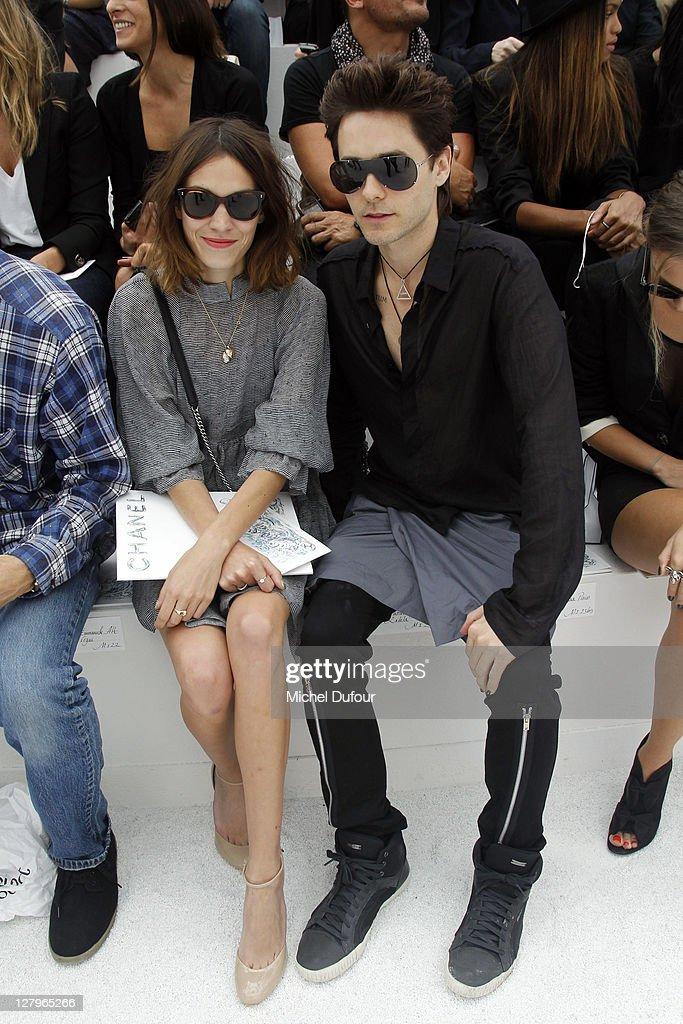 Chanel: Front Row - Paris Fashion Week Spring / Summer 2012 : News Photo