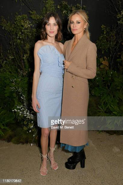 Alexa Chung and Laura Bailey attend a private dinner to celebrate the launch of the new ALEXACHUNG x Sunglass Hut eyewear collection at Wild by Tart...