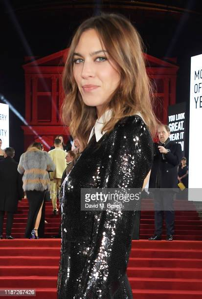 Alexa Chung arrives at The Fashion Awards 2019 held at Royal Albert Hall on December 2 2019 in London England
