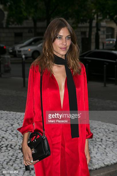 2f26334657a Alexa Chung arrives to attend the Miu Miu Resort Collection Presentation on  July 5 2014 in