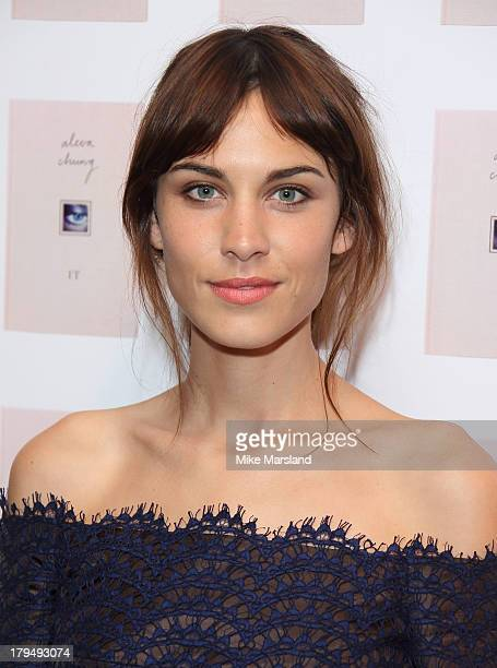 Alexa Chung attends as Alexa Chung celebrates the launch of her first book It at Liberty on September 4 2013 in London England