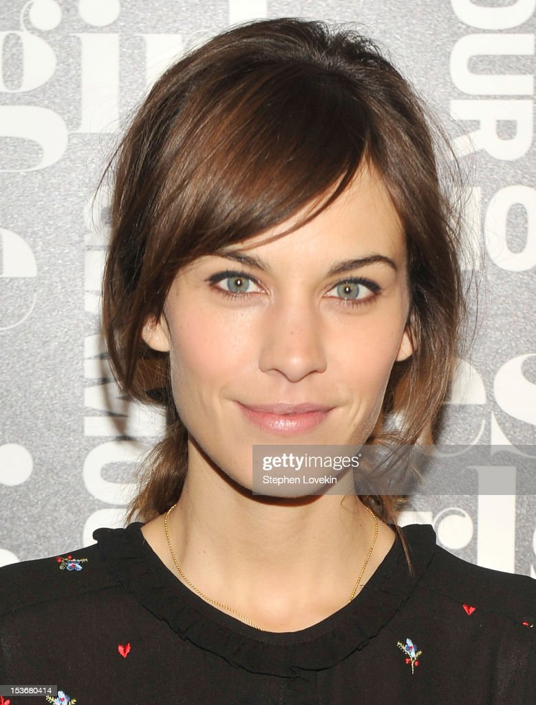 Alexa Chung attends Glamour Presents 'These Girls' at Joe's Pub on October 8, 2012 in New York City.