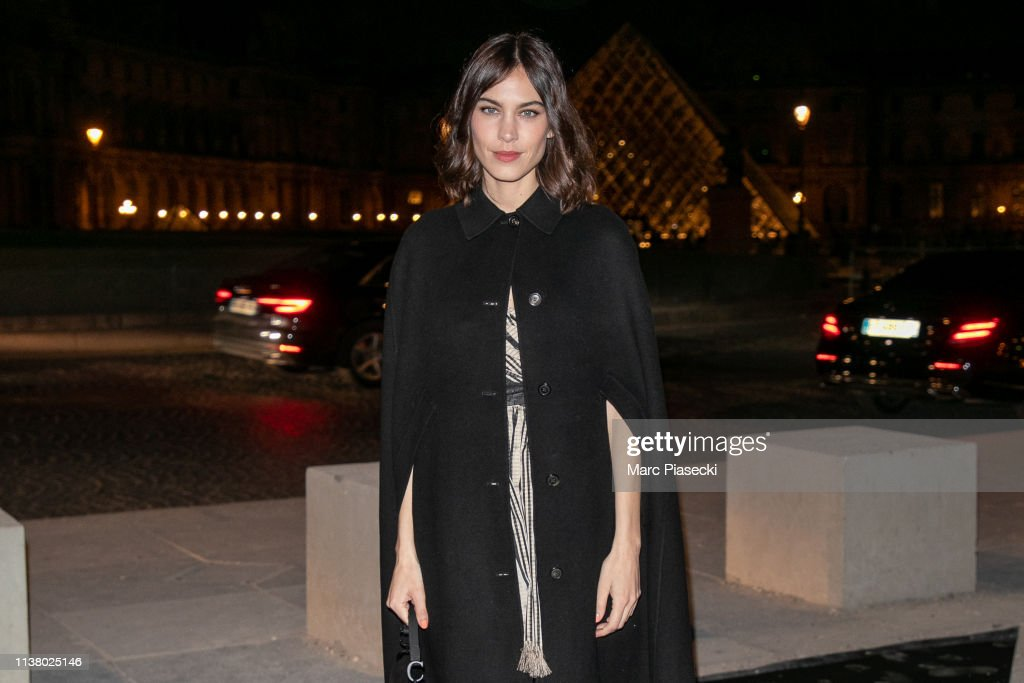 "FRA: ""La French-Art Of Coloring"" - 110th Anniversary of L'Oreal Professional : Outside Arrivals At Carrousel Du Louvre In Paris"