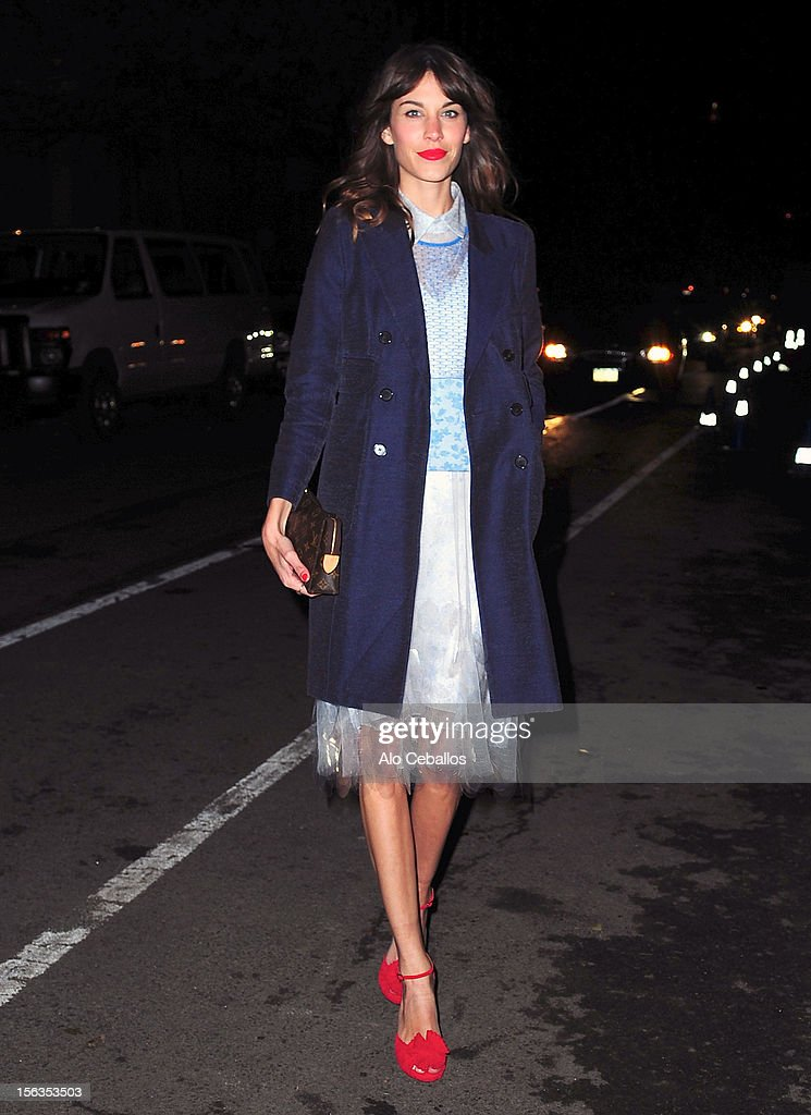 9th Annual CFDA/Vogue Fashion Fund Awards - Outside Arrivals : News Photo