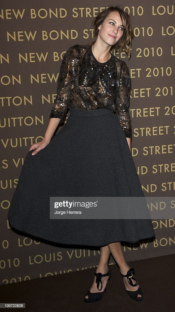 Alexa Chung attends the after party for the launch of the Louis Vuitton Bond Street Maison on May 25, 2010 in London, England.