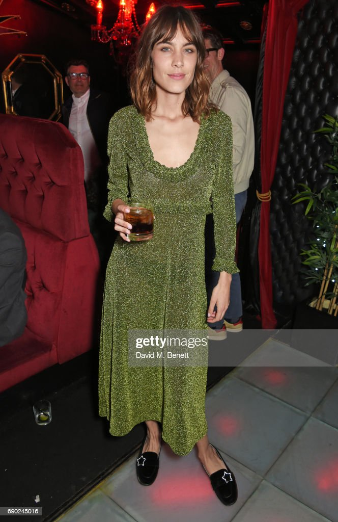 Alexa Chung attends the ALEXACHUNG London launch party at The Aviary Bar on May 30, 2017 in London, England.