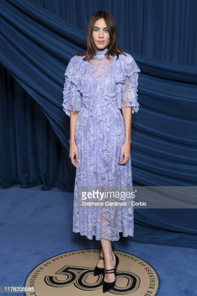 Alexa Chung attends the #BoF500 gala during Paris Fashion Week Spring/Summer 2020 at Hotel de Ville on September 30, 2019 in Paris, France.