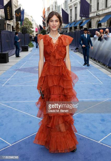 Alexa Chung attends the Chopard Bond Street Boutique reopening cocktail on June 17 2019 in London England