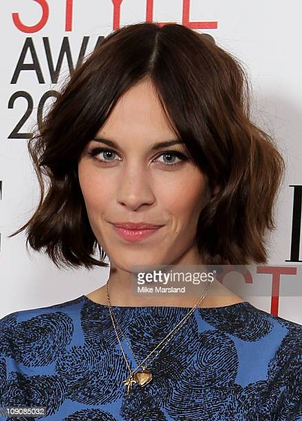 Alexa Chung attends the ELLE Style Awards 2011 at Grand Connaught Rooms on February 14, 2011 in London, England.