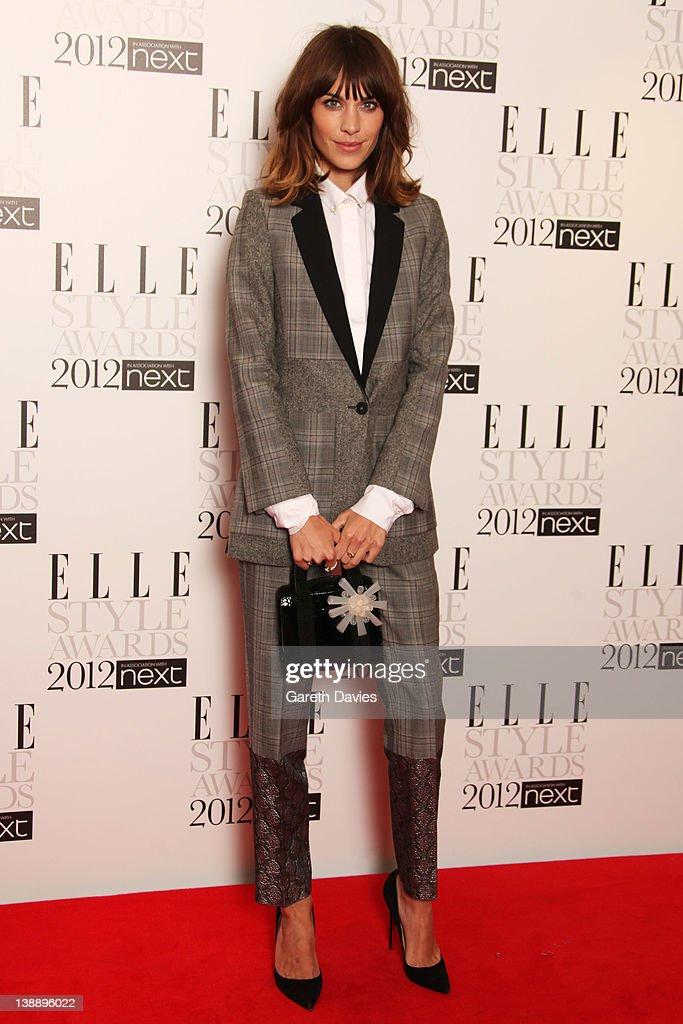 ELLE Style Awards 2012 - Inside Arrivals : News Photo