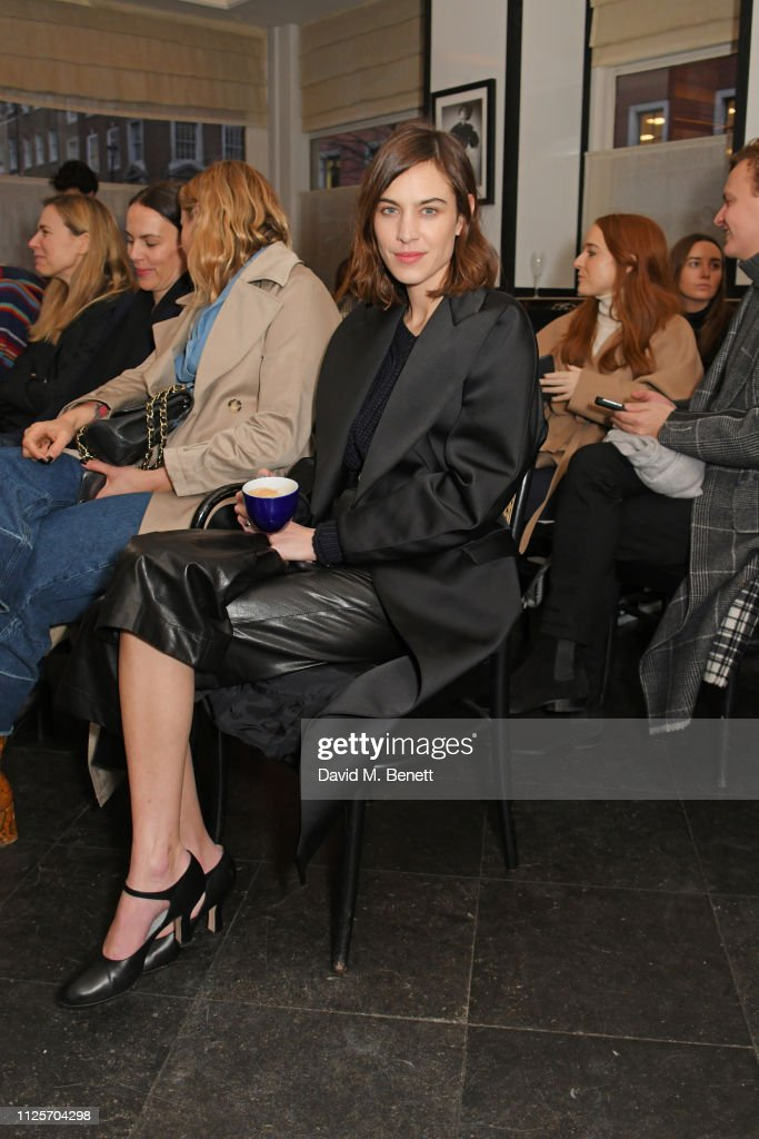 GBR: Emilia Wickstead's London Fashion Week Show At Le Caprice